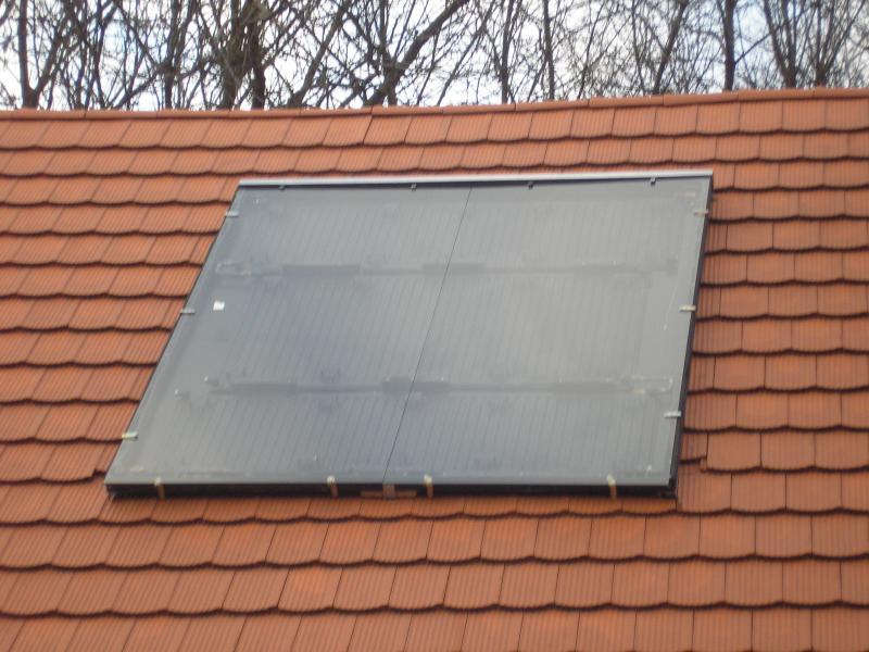 Napkollektor 3 radiátorból